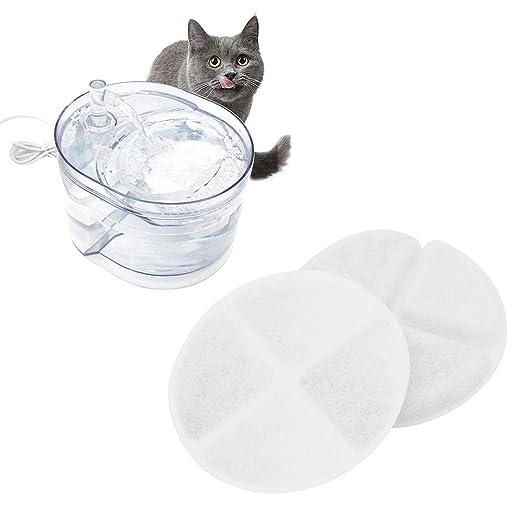 su-xuri 2 Piezas Filtros para Fuentes De Agua para Gatos ...