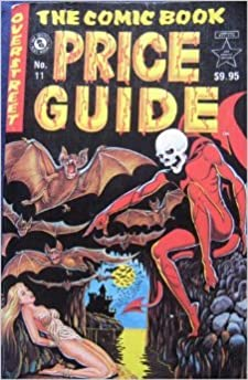 the comic book price guide no 11 robert m overstreet amazon com rh amazon com comic book price guide online comic book price guide 2018