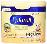 Enfamil Reguline Infant Formula for Soft/Comfortable Stools, Powder, 20.4 Ounce Reusable Tub, 4 Count