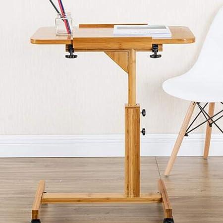 SHWSM Mesa Plegable de Madera para el hogar, Escritorio Simple ...