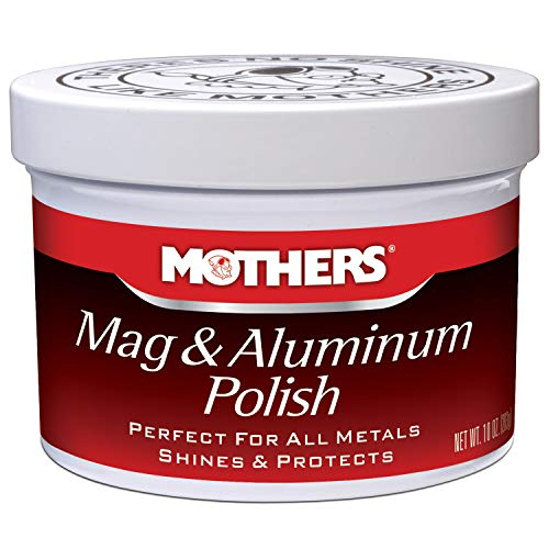 Mothers 05101 Mag & Aluminum Polish - 10 oz (Best Drill For Aluminum)
