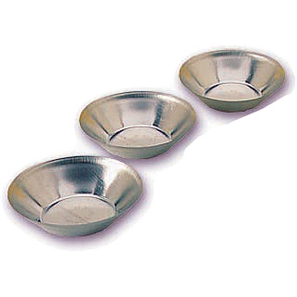 Matfer Bourgeat Tinplate Deep Small Tart Pan, 2.12'', 25PK 343563