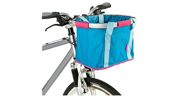 Schwinn plegable bolsa de manillar, Azul/Rosa: Amazon.es: Deportes y aire libre