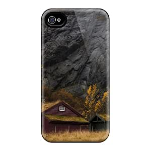 Back Cases Covers For Iphone 6 - Waterfalls Over Cliffs In Stavanger Norway