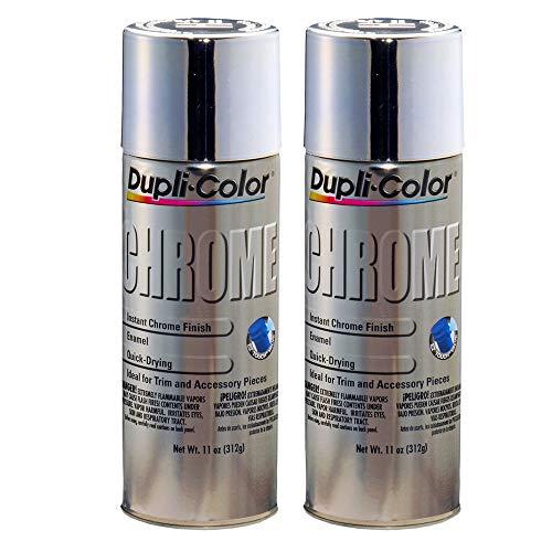 Dupli-Color  CS101 Instant Chrome Finish 11 oz. Aerosol (4 Pack) (2 Pack)