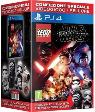 LEGO STAR WARS PS4 + PELUCHE STAR WARS: Amazon.es: Videojuegos