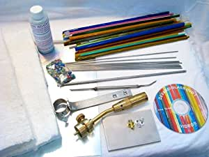 Devardi Glass Lampwork, Beadmaking Starter Kit - Basic