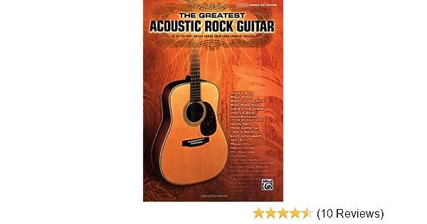Amazon.com: The Greatest Acoustic Rock Guitar (0038081302683): Hal ...