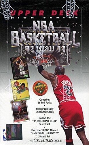 (1992-93 Upper Deck High Series Basketball Hobby Box)
