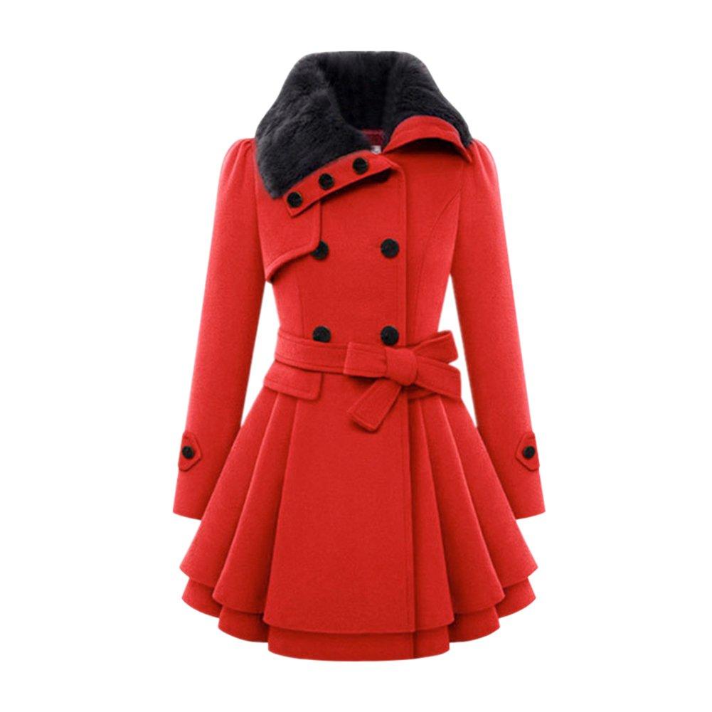 Fashion Story Women Winter Warm Jacket Coats Outwear