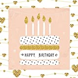 Happy Birthday: Guest Book Color-filled Golden Interior Fluer de LIs 50th 51st 52nd 53rd 54th 55th 56th 57th 58th 59th 100th 11th 12th 73th 74th 75th ... Gifts for Women for Teens (Volume 9)