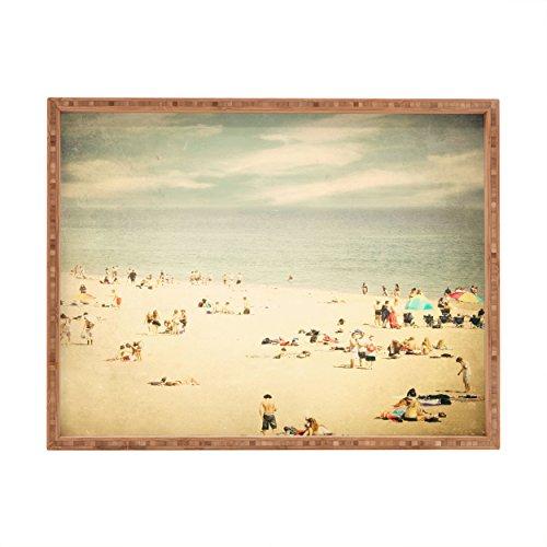 Deny Designs Shannon Clark Vintage Beach Indoor/Outdoor Rectangular Tray, 14 x 18