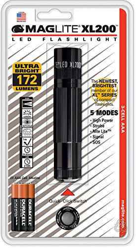 MagLite MAG LED XL200 TAC PAC BLK