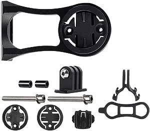 Yuhtech Soporte de soporte para bicicleta para cámara Garmin Edge/Bryton Rider/CatEye/Gopro