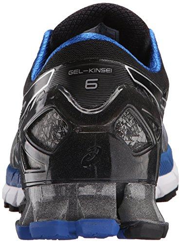 Plateadas 8 Azules De Zapatillas M Hombre Negras Running Us kinsei Para Gel 6 vxqzxdOw