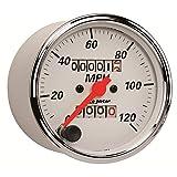 Auto Meter 1396 Arctic White Mechanical Speedometer