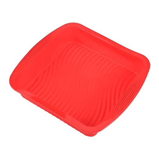 BESTONZON Pan de Pan Rectangular Pan de Silicona Molde para ...
