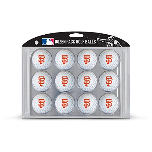 San Francisco Giants Team Ball - MLB San Francisco Giants Golf Balls, 12 Pack