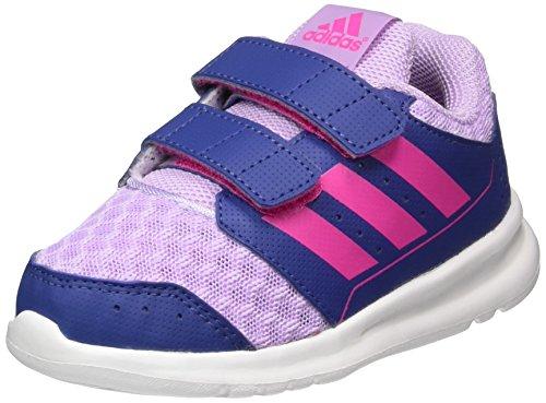 adidas Baby Mädchen Lk Sport 2.0 Cf Lauflernschuhe Violett (Purple Glow/Shock Pink/Raw Purple)