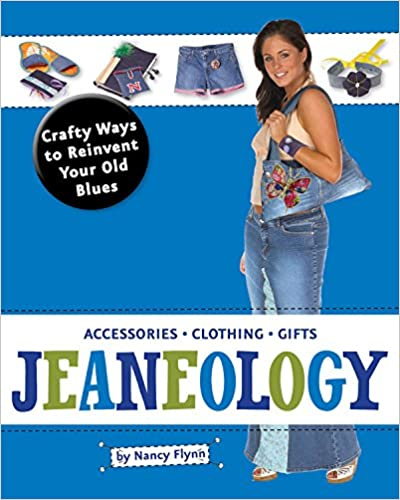 Jeaneology - Craft Ways to Reinvent Your Old Blues available on Amazon