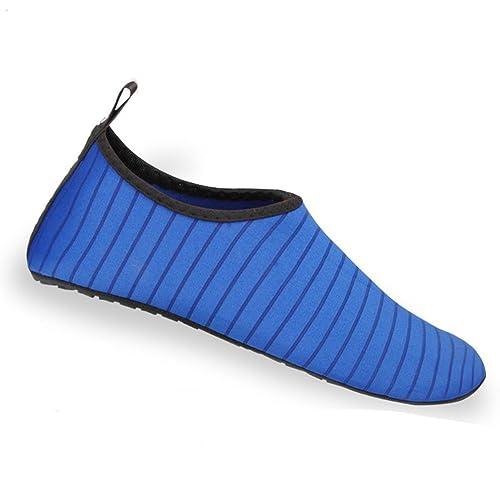 Nclon Adulto Antideslizante Secado Rápido Zapatos De Agua Skin Shoes,Respirable Zapatillas Chanclas Aqua Calcetines Piscina Navegando Buceo Yoga Acuàticos ...