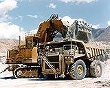 1980 ? Dresser Haulpak Construction Truck Photo Poster DEMAG
