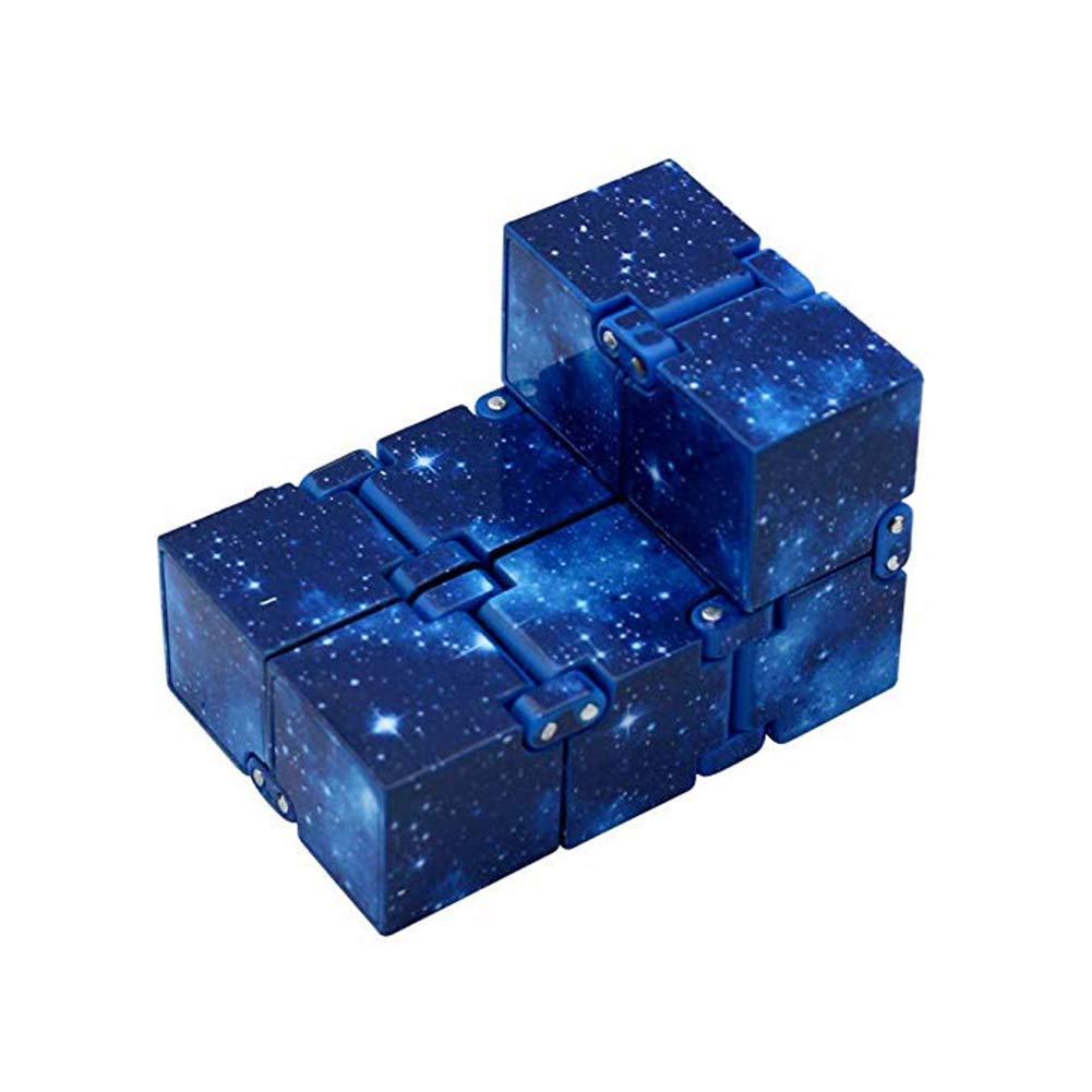 Infini Rubik Cube Creative D/écompression Jouet Enfant Apprentissage dapprentissage Jouet Pliant Cube Convient Aux Enfants et Aux Adultes S/érie Etoil/ée