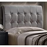 Hillsdale Lusso Faux Leather Upholstered King Panel Headboard