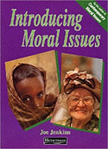 Introducing Moral Issues by Mr Joe Jenkins (1993-12-23)