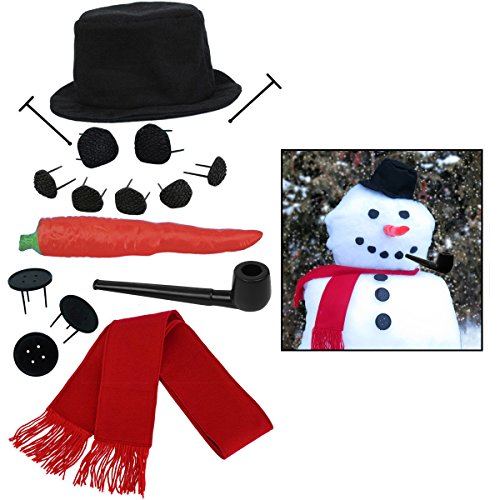 Christmas Hats For Children To Make (Evelots My Very Own Snowman Kit, 15 Pieces Included)