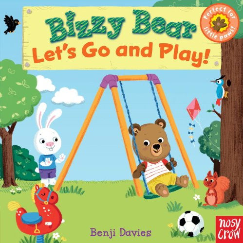 Bizzy Bear: Let's Go and Play Bears Seesaw