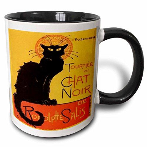 3dRose Chat Noir advertising mug 46907 4