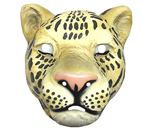 Funny Fashion Child Vintage Animal Halloween Mask Safari Plastic Child Costume Accessory -
