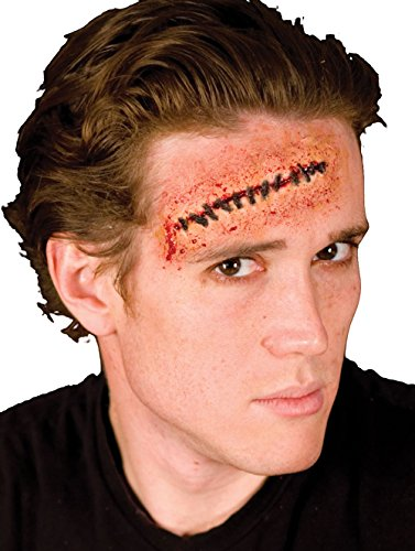 Cinema Secrets Woochie Stitches Latex Appliance, Multi, One (Halloween Film Characters Costumes Uk)