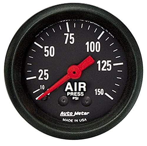 Corvette C4 Air (C3 C4 C5 C6 C7 Corvette 1968-2014+ Autometer 2-1/16 inch Air Pressure 0-150 PSI)