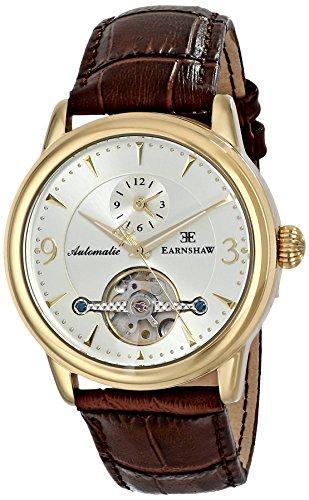 Thomas Earnshaw Men's ES-8003-04 Regency Analog Display Automatic Self Wind Brown Watch