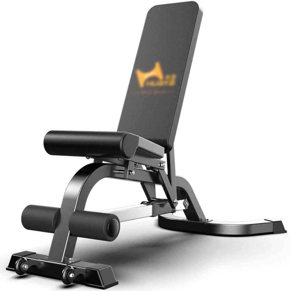 シットアップボードを、商業アジャスタブルベンチホームトレーニングジム傾いベンチ腹部ボード腹筋22.5KG重量、サイズ、145 * 120から150 * 42センチメートル