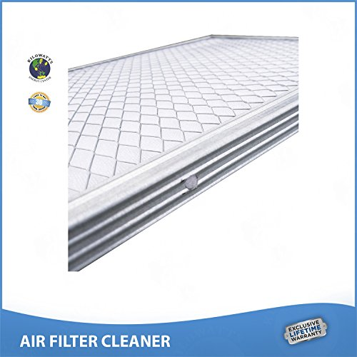 18x30x1 Lifetime Air Filter Electrostatic A/C Furnace Air Filter Silver 94% Arrestance.. Never Buy a New Filter by Kilowatts Energy Center (Image #1)