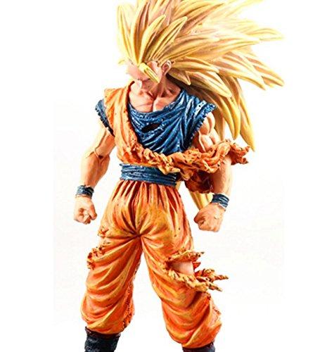 TONGROU Anime Z Super Saiyan Son Goku 3 PVC Action Figure Collectible Toy