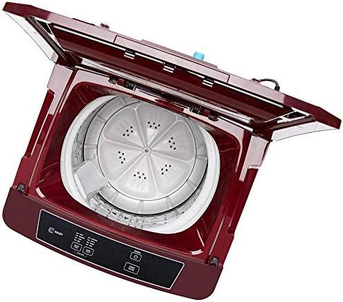 (Renewed) Godrej 6.4 kg Fully-Automatic Top Loading Washing Machine (WTA 640 EI, Autumn Red)