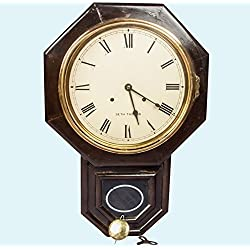 Antiques World Antique Drop Octagon Wooden Collectible Seth Thomas Pendulum Wall Clock AWUSAHB 047