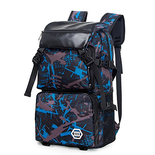 MUMA Daypacks Hohe Kapazität Reisetasche Rucksack Die neue High Junior High School Schüler Tasche Männer Trend Laptop Tasche Starke Durable Multifunktions