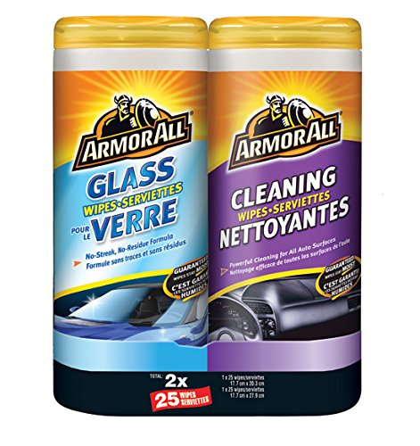 Armor All 2 Pack Wipe Cleaning Kit Armor All (ARMOM) 17375