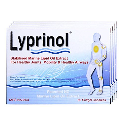 Lyprinol Pcso-524 200 Capsules New Zealand Green Lipped Mussel Extract Oil Joint Health Support & Mobility