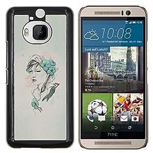 EJOOY---Cubierta de la caja de protección para la piel dura ** HTC One M9Plus M9+ M9 Plus ** --Arte pop Carpintero