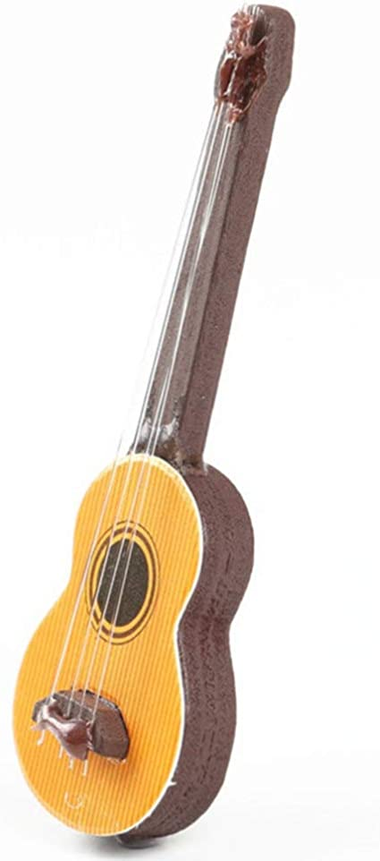 SUPVOX Adornos de Guitarra acústica en Miniatura de Madera Modelo ...