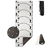 Non Slip BASKETBALL BASKET BALL Basketball NBA TEAM Printed Yoga Mat Great For Exercise Pilates Gymnastics With Carrying Strap