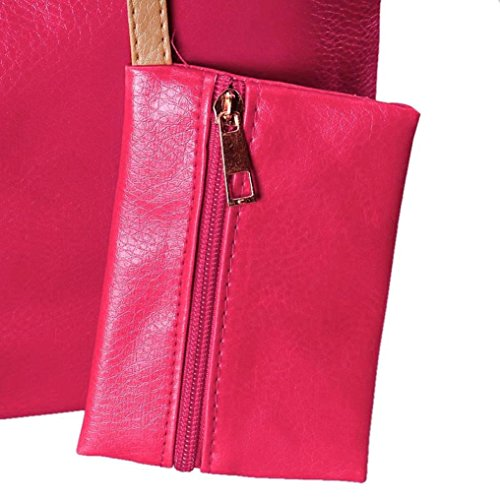 di di di marca delle donne spalla delle Borsa Rosa delle femminile casuale a Raccoglitore modo Caldo LQQSTORE donne borse famosa spalla ZqC0vxw