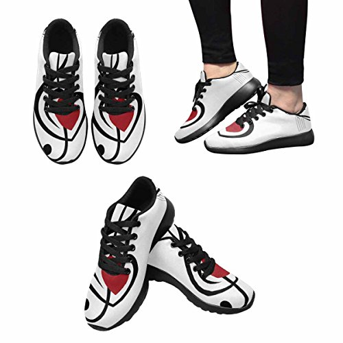 Scarpa Da Jogging Leggera Da Donna Running Jogging Leggera Easy Go Walking Sport Comfort Scarpe Da Corsa Multi 11