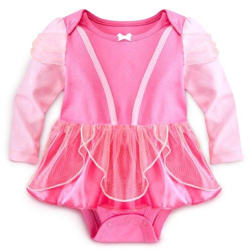 Disney Store Aurora/Sleeping Beauty Onesie Costume Bodysuit Size 12-18 Months